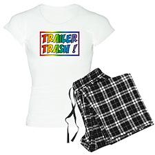 Trailer trash rainbow Pajamas