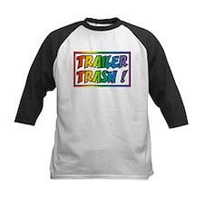 Trailer trash rainbow Baseball Jersey