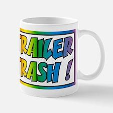 Trailer trash rainbow Mugs
