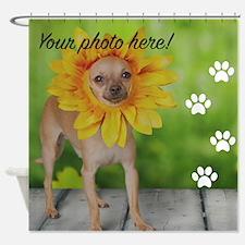 Your Pet Photo Shower Curtain