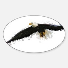 Watercolor Soaring Eagle Decal