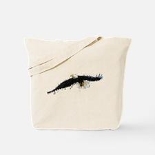 Watercolor Soaring Eagle Tote Bag