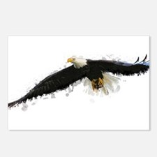Watercolor Soaring Eagle Postcards (Package of 8)