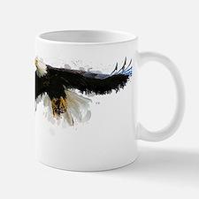 Watercolor Soaring Eagle Mugs