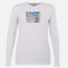 Mt Rushmore.jpg Plus Size Long Sleeve Tee