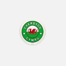 Unique Swansea united kingdom Mini Button