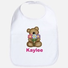 Kaylee's Bouquet Bear Bib