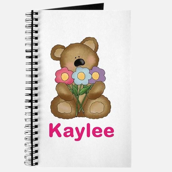 Kaylee's Bouquet Bear Journal