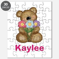 Kaylee's Bouquet Bear Puzzle