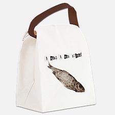Cute Creep Canvas Lunch Bag