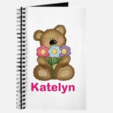 Katelyn's Bouquet Bear Journal