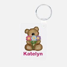 Katelyn's Bouquet Bear Keychains