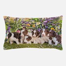 Cute Border collie Pillow Case