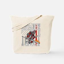 I Fear No Evil Firefighter Crusader Tote Bag