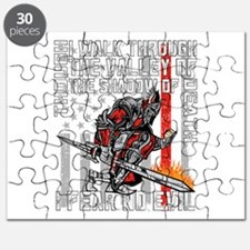 I Fear No Evil Firefighter Crusader Puzzle