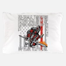 I Fear No Evil Firefighter Crusader Pillow Case