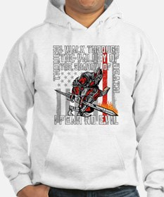 I Fear No Evil Firefighter Crusa Hoodie
