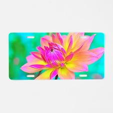 Cute Flora bama Aluminum License Plate