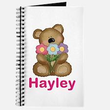 Hayley's Bouquet Bear Journal