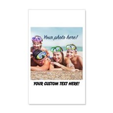 Custom Photo And Text Wall Decal
