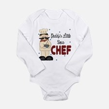 Daddy's Little Sous Chef Baby Body Suit