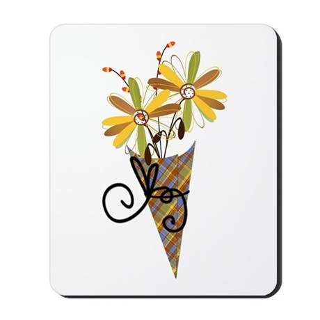 Autumn Flowers Mousepad