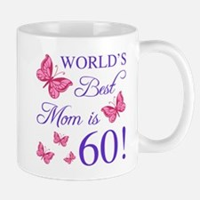 60th Birthday For Mom Mugs