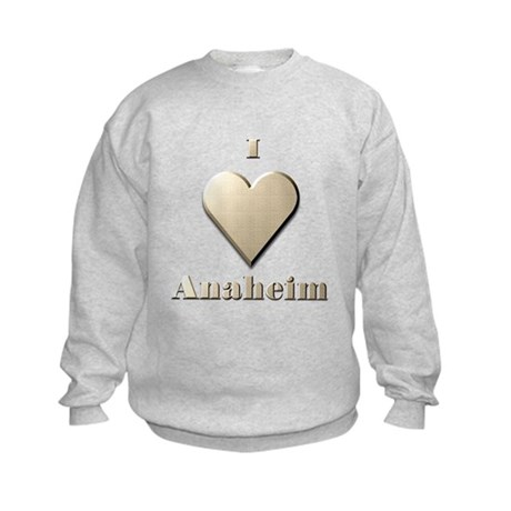 I Love Anaheim #10 Kids Sweatshirt