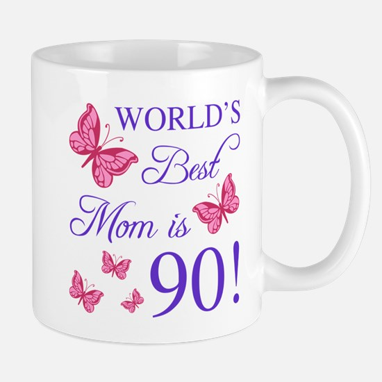 90th Birthday For Mom Mugs
