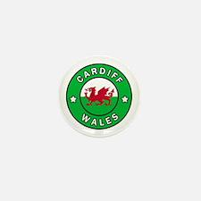 Cute Swansea united kingdom Mini Button