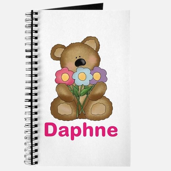 Daphne's Bouquet Bear Journal
