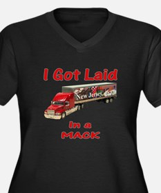 Mack Trucker Shirts and Gifts Women's Plus Size V-