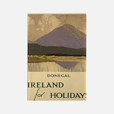 Cute Travel ireland Rectangle Magnet