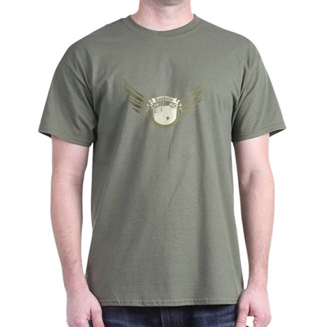 """""""Wings"""" Olive T-Shirt"""