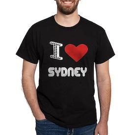 I Love Sydney City T-Shirt