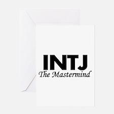 INTJ   The Mastermind Greeting Cards