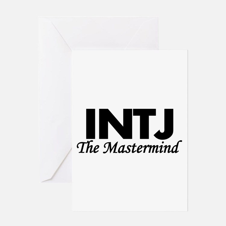 INTJ | The Mastermind Greeting Cards