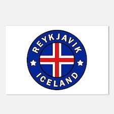 Reykjavik Iceland Postcards (Package of 8)