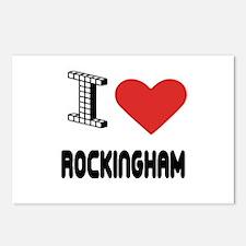 I Love Rockingham City Postcards (Package of 8)