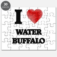 I love Water Buffalo Puzzle