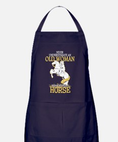 Cute Horse Apron (dark)