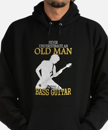 Never Underestimate An Old Man With Hoodie (dark)