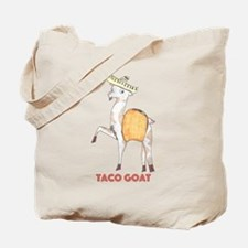 Taco Goat Tote Bag