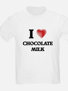 I love Chocolate Milk T-Shirt