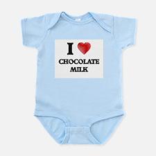I love Chocolate Milk Body Suit