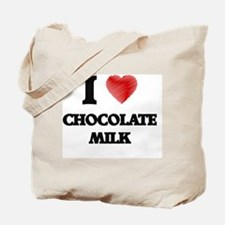 I love Chocolate Milk Tote Bag