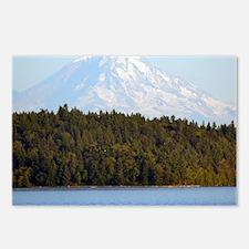 Cool Mount rainier Postcards (Package of 8)