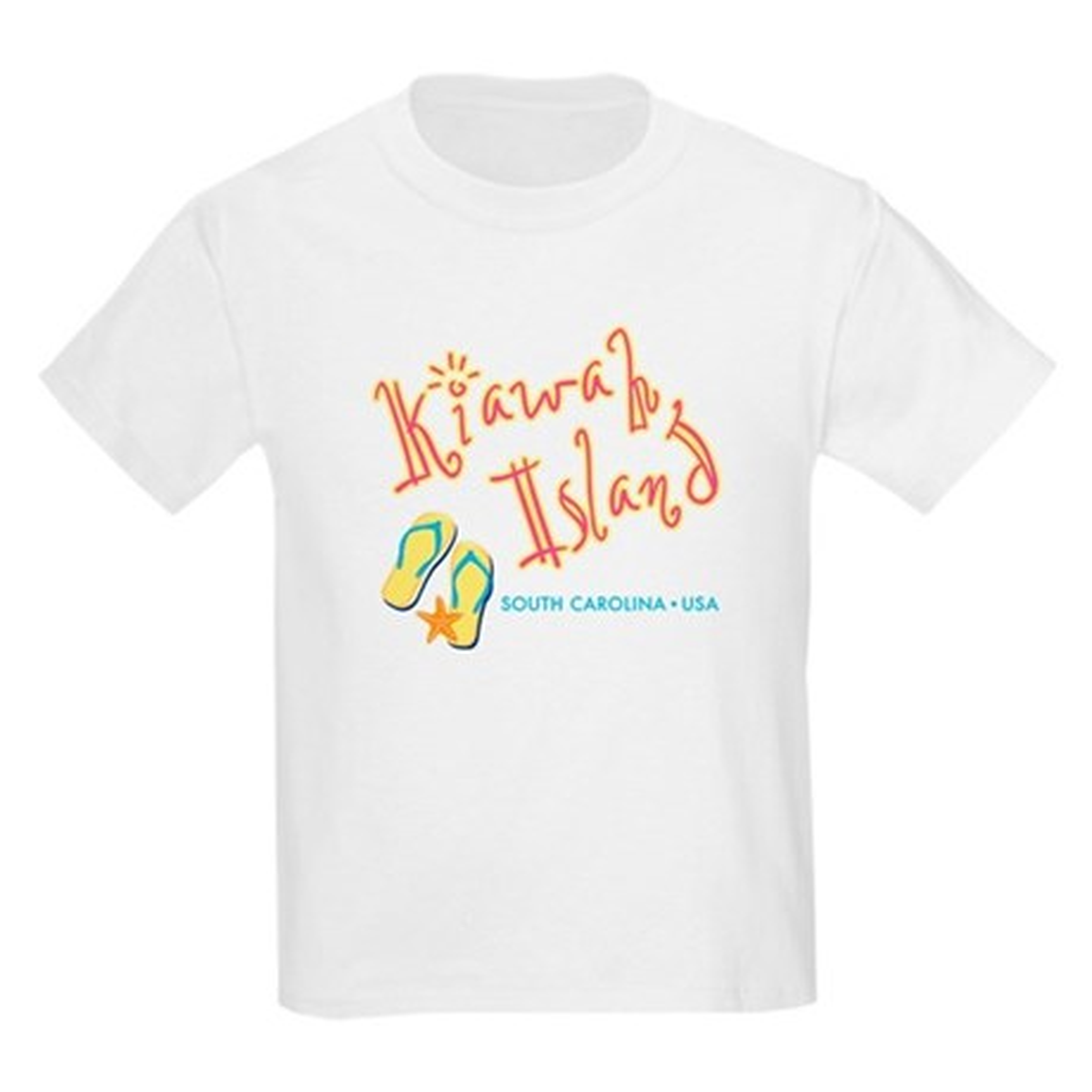 CafePress Kiawah Island - Kids Light T-Shirt