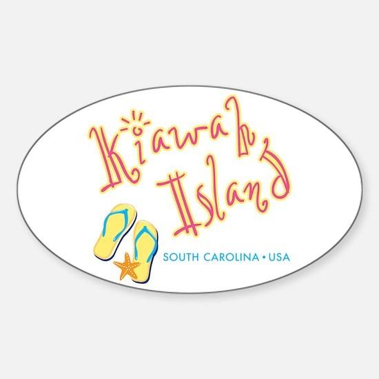 Kiawah Island - Sticker (Oval)
