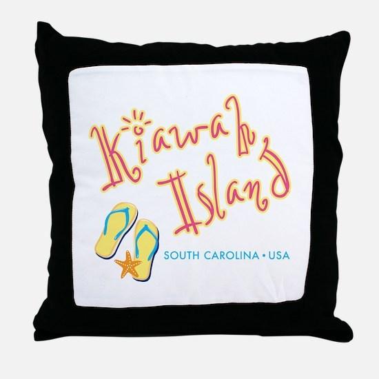 Kiawah Island - Throw Pillow